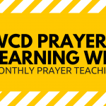 WCD Prayer Learning Webinars Image